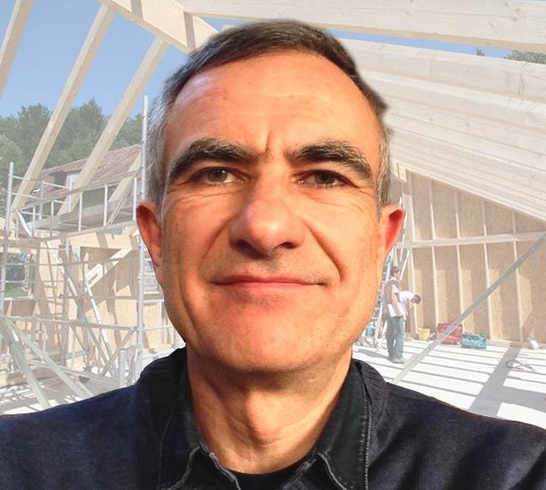 portrait de Gilles Jeltsch architecte DPLG à Colmar